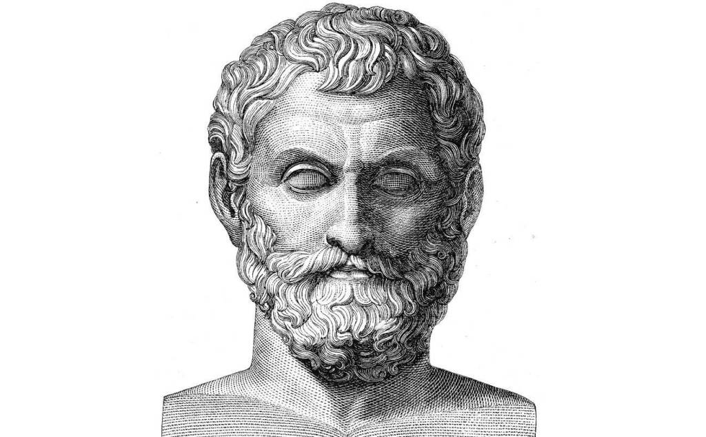 thales of miletus atom Thales of miletus  thales understood similar triangles and right triangles,  subscribe to: post comments (atom) facebook twitter google .