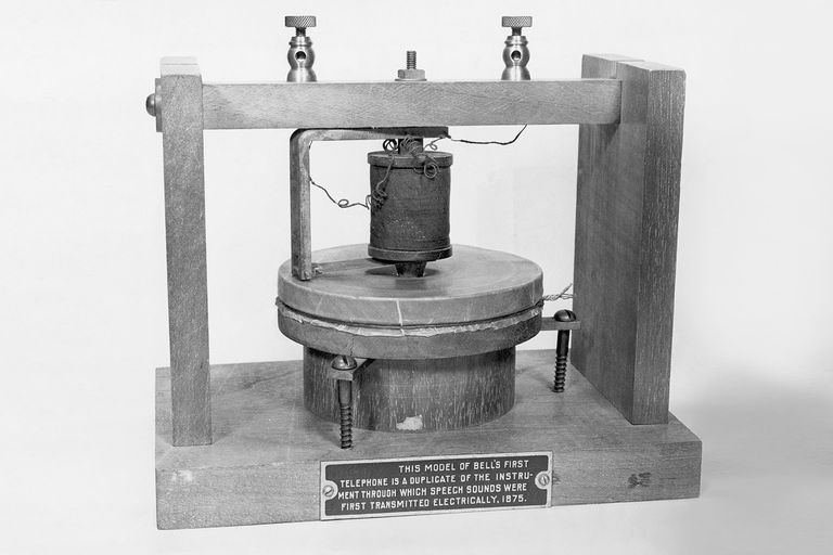 ilk telefon