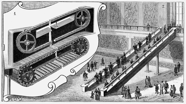 Кто изобрел эскалатор?