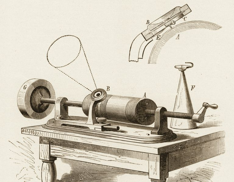 Ses-kaydedici-Phonograph